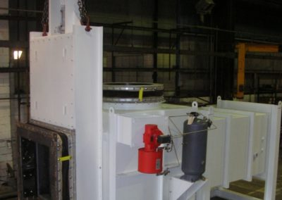 Fox Equipment Guillotine/Slide Gate Damper