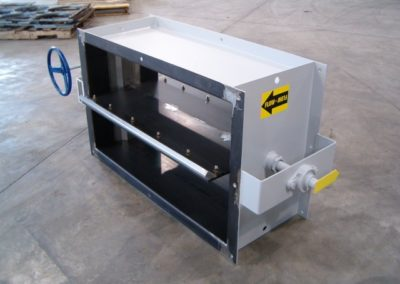 Fox Equipment Louver Damper